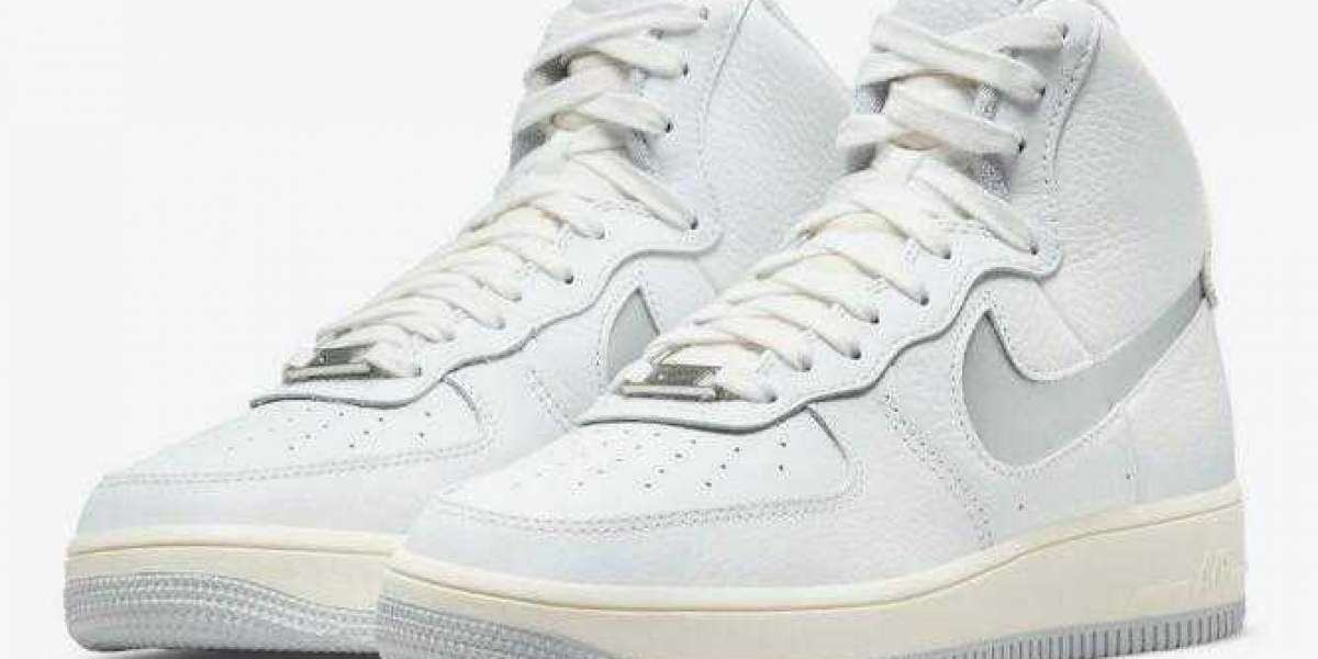 """Perfect Outlet Nike Air Force 1 Strapless """"Light Smoke Grey"""" for Online Sale"""