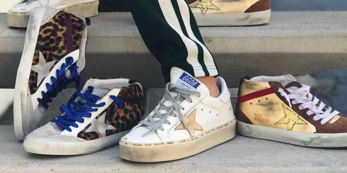 Golden Goose Sneakers Sale their retro look