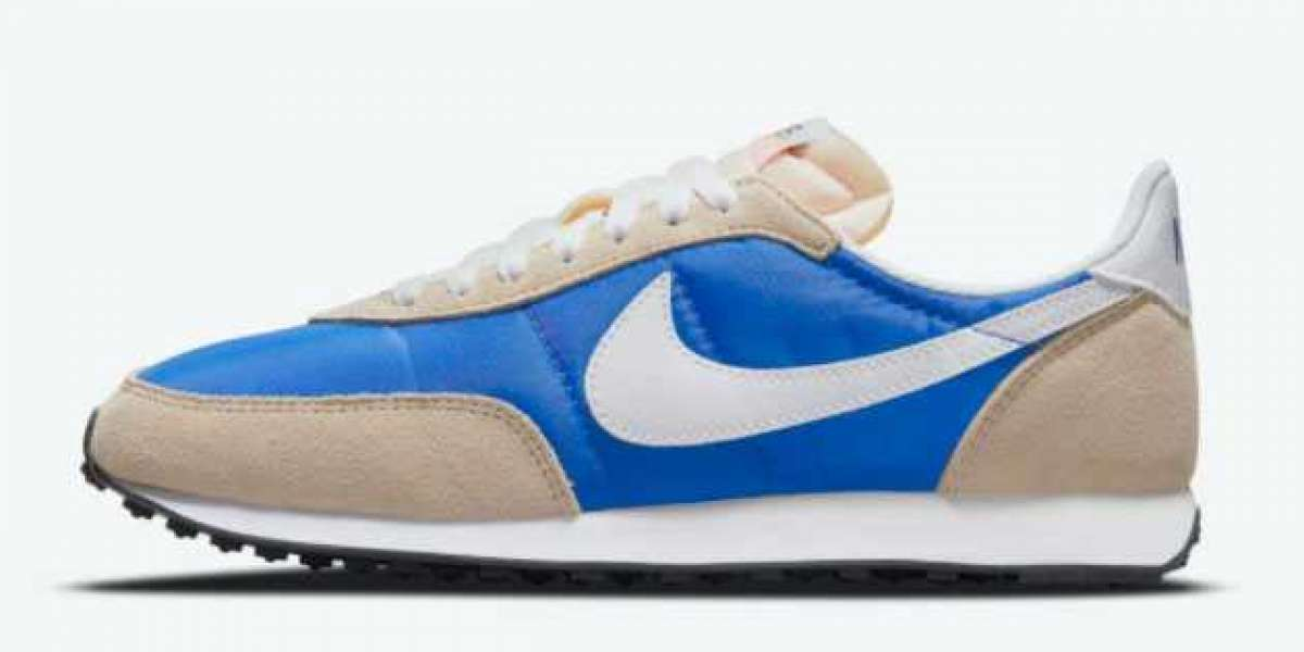 """Best Selling Nike Waffle Trainer 2 """"Hyper Royal"""" Shoes DH1349-400"""