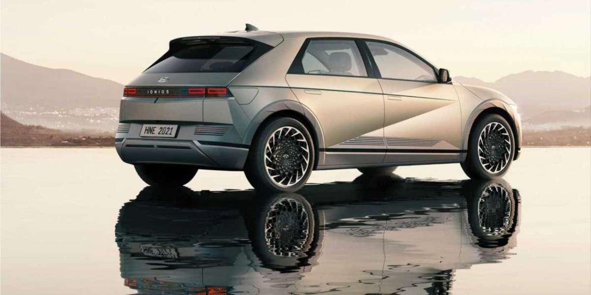 2021 Ioniq 5 electric SUV built on the E-GMP platform