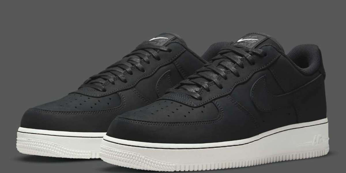 """2021 Nike Air Force 1 Low '07 LX """"Off Noir"""" DQ8571-001"""
