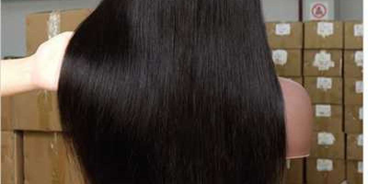 Various types of hair can be used to create hair extensions, which are available in a variety of colors.